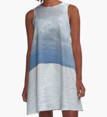 Nevereding white A-Line Dress