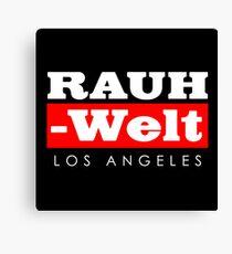 RAUH WELT BEGRIFF : LOS ANGELES Canvas Print