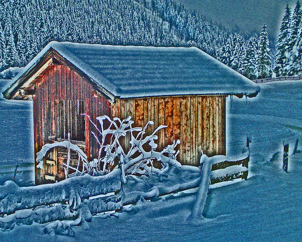 Snow Hut by shoey