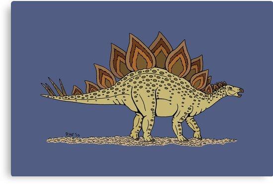 Stegosaurus by Richard Fay