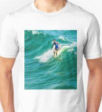 Nose Ride Longboarding - Southern California Summer Wave T-Shirt