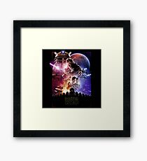Dotor Who Framed Print