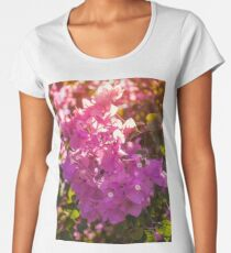 Wonderful backlit bougainvillea  Women's Premium T-Shirt