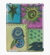 Summer Blocks iPad Case/Skin