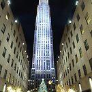 Rockefeller Christmas Tree II by David Thompson