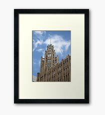 Manchester Unity Framed Print
