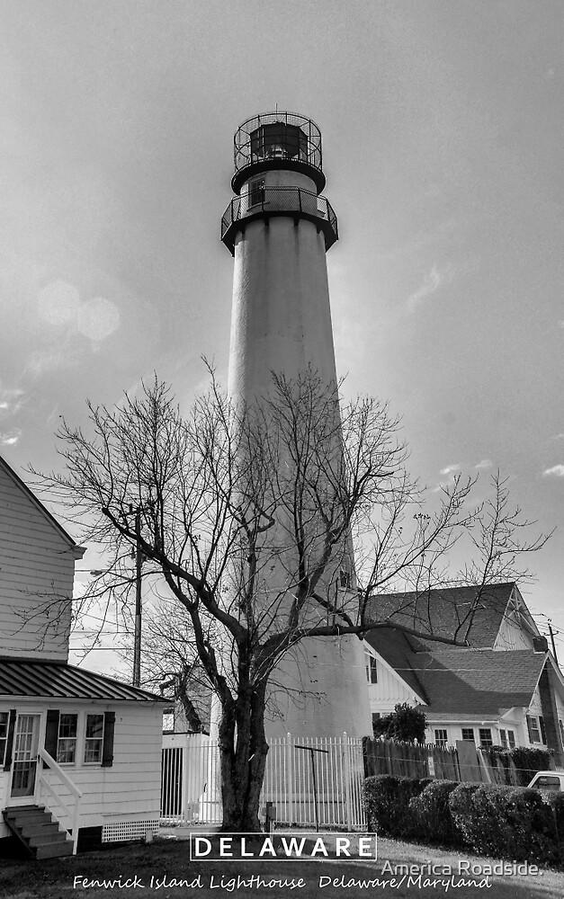 Fenwick Island Lighthouse. by America Roadside.