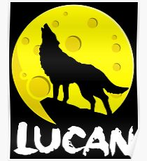 Lucan The Son Of Wolf Poster
