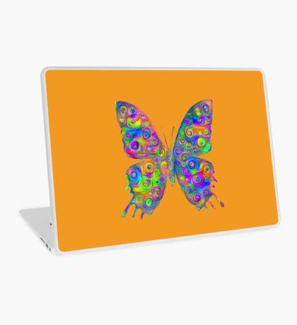 #DeepDream Motley Butterfly Laptop Skin