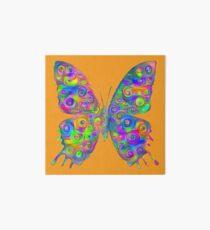 #DeepDream Motley Butterfly Art Board