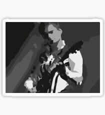 Matt Bellamy Playing guitar Sticker