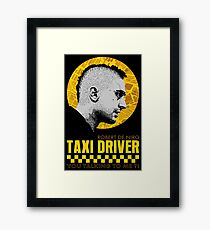 The Fabulous Taxi Driver Framed Print