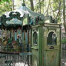 Bryant Park Carousel by David Thompson