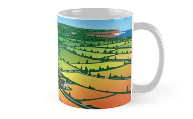 Lemon Jelly - Lost Horizons (Daylight) Mug by innerspaceboy
