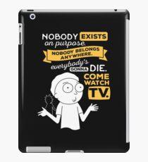 morty TV iPad Case/Skin