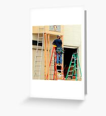 The Ladder Of Choice Greeting Card