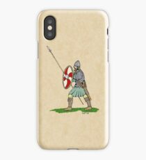 Anglo-Saxon Warrior iPhone Case
