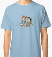 The Flintstones Wilma and Betty in the Sun Classic T-Shirt