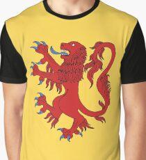 Lion Rampant Gules Grafik T-Shirt