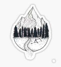 camp grounds Sticker