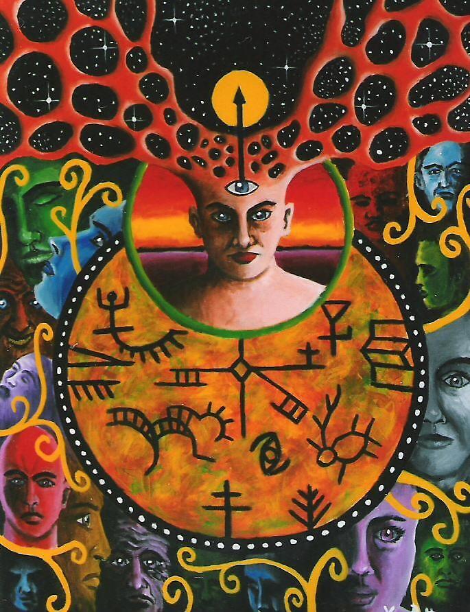 The Shaman by Vesa Peltonen