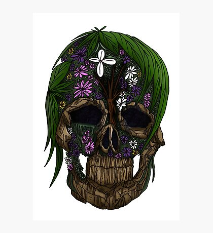 Plant Skull Photographic Print
