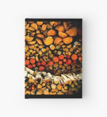Wood for Winter Hardcover Journal