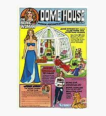 THE BIONIC WOMAN - DOME HOUSE - KENNER Photographic Print