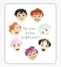Do You Know Annyeonghaseyo? Sticker