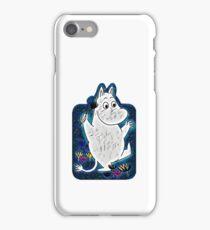 The Moomins moon light iPhone Case/Skin