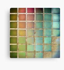 Color Chart Green Canvas Print