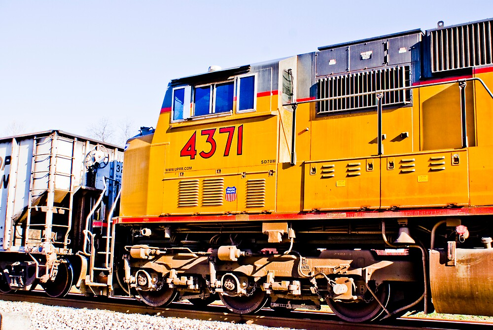 Union Pacific 4371 by Rod  Adams