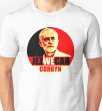 Jez We Can Corbyn Unisex T-Shirt