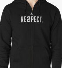 0a17a79d1cd Respect Derek Jeter Re2pect Pullover Sweatshirt. By Aquaart. $44.56. respect  Zipped Hoodie