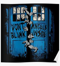 Doctor Who dont blink Poster