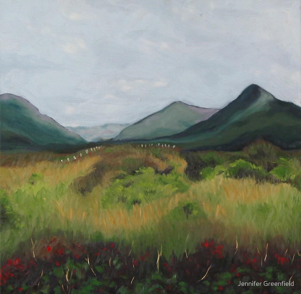 SOLD- Rachael's Ireland II by Jennifer Greenfield