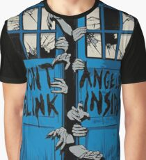 Doctor Who dont blink Graphic T-Shirt