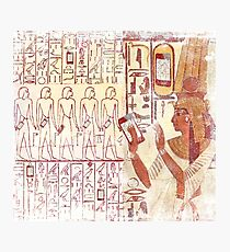 Ancient Egypt smart phones Photographic Print