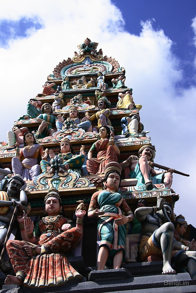 Hindu Temple by BengLim