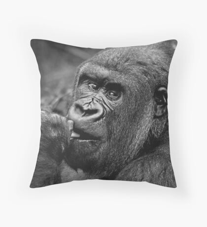 Why Are They Staring? Throw Pillow