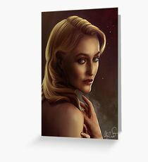 Bedelia du Maurier soft version Greeting Card
