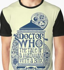 Doctor Who The Tales Of A Mad Man With A Box Graphic T-Shirt