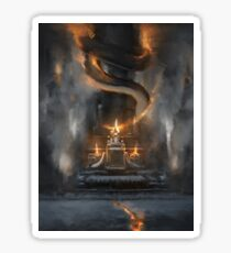 Lords of fire... Sticker