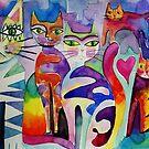 Berlin cats by Karin Zeller