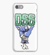 OSS blue iPhone Case/Skin