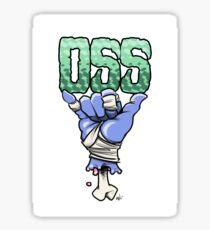 OSS blue Sticker