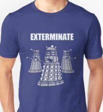 Doctor Who Dalek The Exterminate Unisex T-Shirt