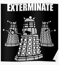 Doctor Who Dalek The Exterminate Poster