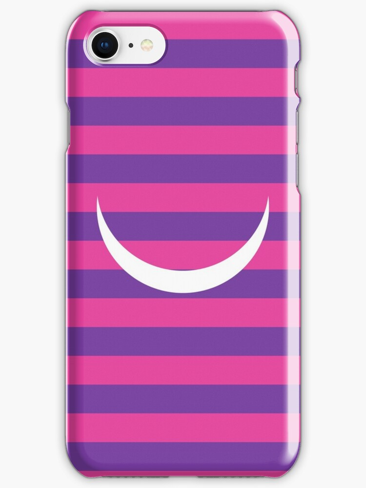 Minimalist Alice in Wonderland Cheshire cat iPhone and iTouch case by Paper Street Co.