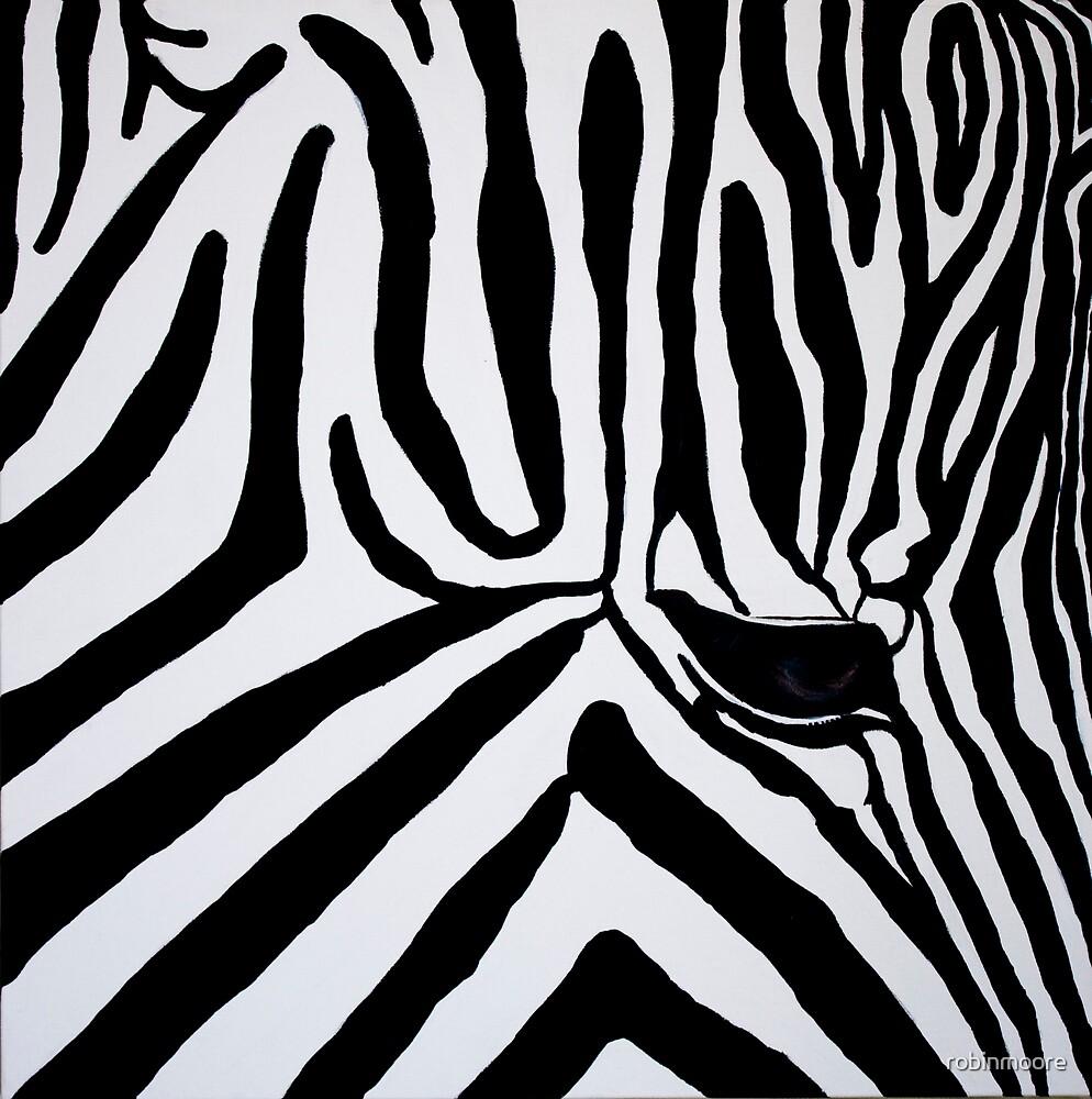 Zebra by robinmoore